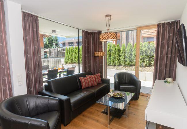 Ferienwohnung in Neukirchen am Großvenediger - Top 1 - Ap. mit 2 SZ, Terrasse und eigenem Garten